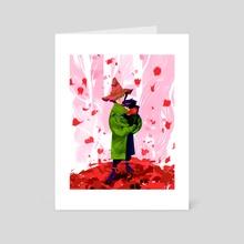 Joxter & Snufkin - Art Card by Marianne Palita