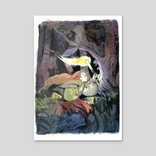 Through the fae wood - Acrylic by Faith Schaffer