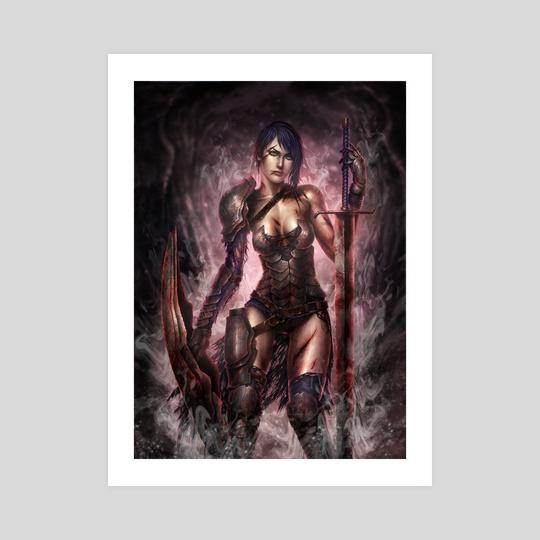 Warrior by Tek Koon Scott