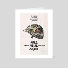 Full Metal Jacket movie inspired - Art Card by Fer Ojea