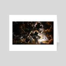 Coral in the Sky - Art Card by Andi GreyScale