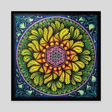 Seed Of Life - Canvas by Marike Doedens