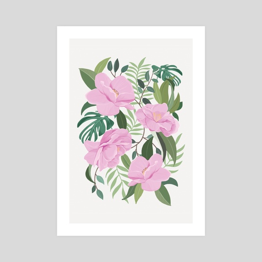 Soft Garden by marrie green