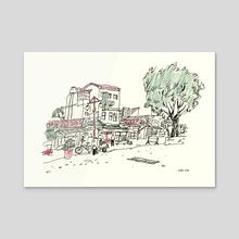 Taipei Sketchbook 5 - Acrylic by Vikki Chu