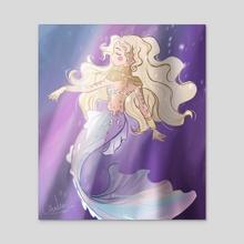 Mermaid - Acrylic by Drawing Cristina