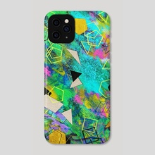 Abstract painting - Phone Case by Nika Akin
