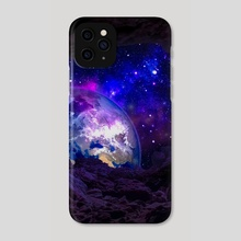 EARTH FROM SPACE - Phone Case by Bipin Koirala