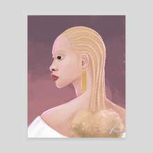 The Albino Series - 2 - Canvas by Renike
