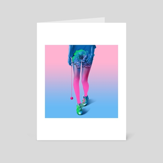 girl legs by elwin charly
