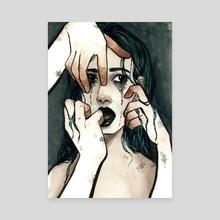 Murk - Canvas by Dovenart