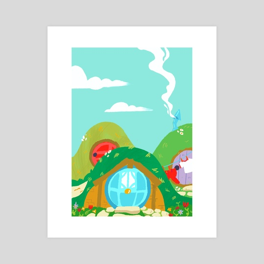 Hobbiton by Lisa Renee Wu