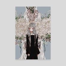 Mess - Canvas by Mu san