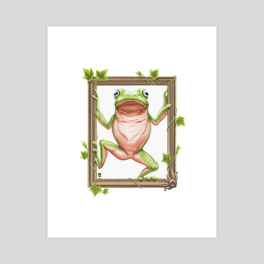 Frog in a Frame by Marc P.I.