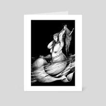 LaSiren - Art Card by Pierre-Richard Raphael