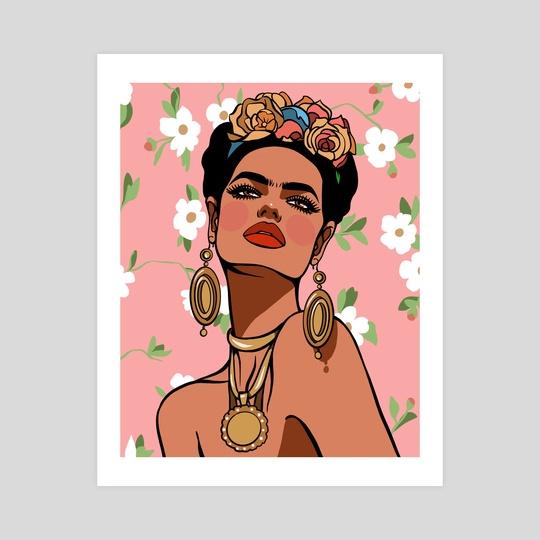 Frida  by Crystal Perez