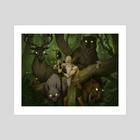 Forest Summoner - Art Print by Travis Purvis