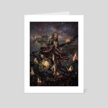 Igon, Guardian of Tiklos - Art Card by Daniel Correia