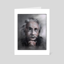 Albert - Art Card by Tobias