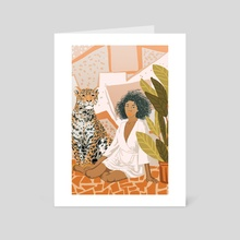 House Guest - Art Card by 83 Oranges
