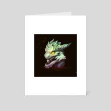 Dragon Child - Art Card by Alexey Grishin