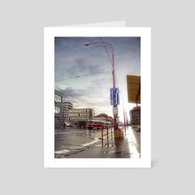 Street of Memories - Art Card by Marek Denko