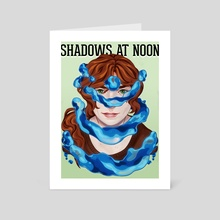 Shadows at Noon - Trista - Art Card by Mel de Carvalho