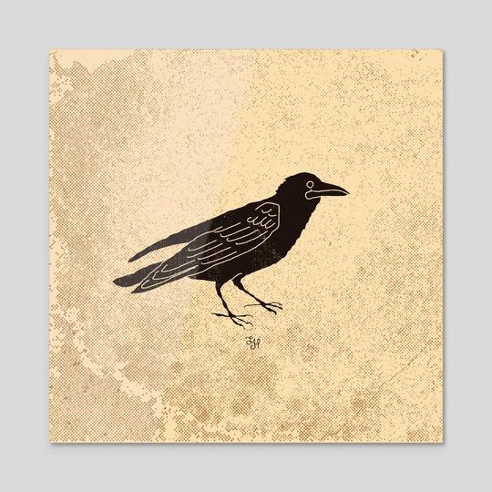 Black bird by LeftHandedGraphic