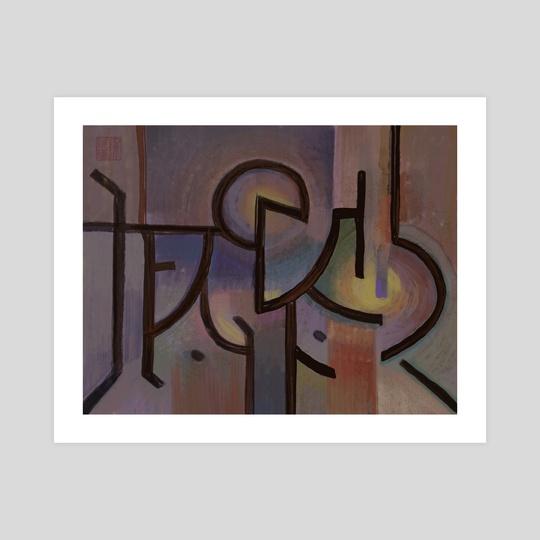 Glyph  by Heather Chen