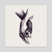 Peace  - Canvas by Tati Zahvozdina
