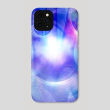 Human eye and palm - Phone Case by Bruce Rolff