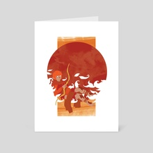 Fall Spirit - Art Card by Nicole Dorosh