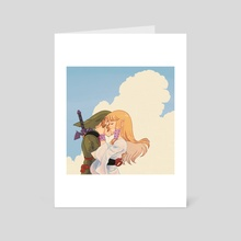 You found me! - Art Card by Mochiwei