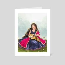 Durga - Hindu Goddess - Art Card by Ankita Mehta