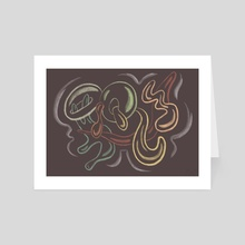 squiggles - Art Card by jeannica ☼☼☼