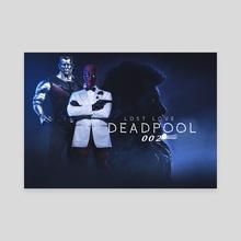 deadpool 002 - Canvas by ATLANT99