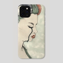 Girl and the Sea - Phone Case by Rachel Wilson