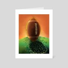 The Case Against High School Sports - Art Card by Kaeli O'Connor