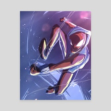 Scarlet Spider - Canvas by Ethan Gray