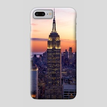 Empire State - Phone Case by Brian Fisher
