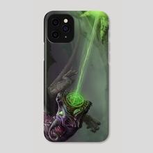 Elder Gravebreaker - Phone Case by Robert  Schneider