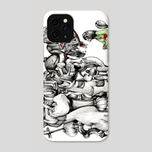 The Chess Game - Phone Case by Dana Maier