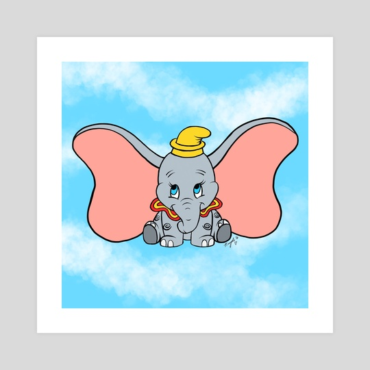 Flying Elephant by Nayeli Benitez