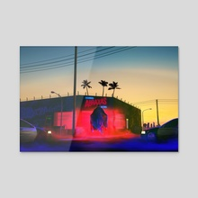 El Imperio de las Luces - Acrylic by Francois Deverly