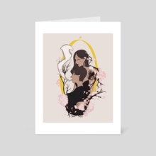 blossom - Art Card by ʙᴇᴇ