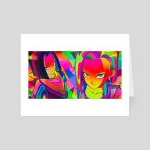 dbz1 - Art Card by EL MIEDO