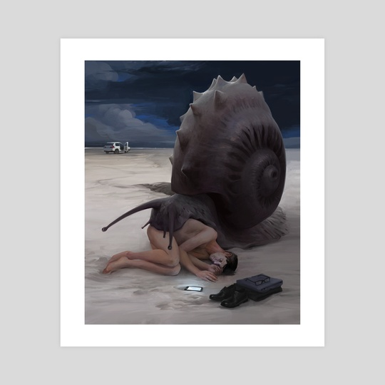 Snail by Yana Bau