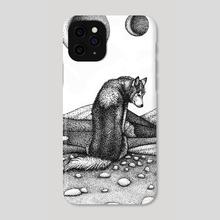 Lone Wolf - Phone Case by ROSITSA GARDJELIYSKA