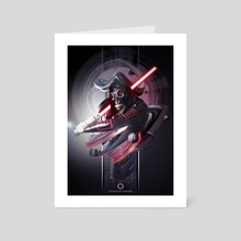 I'am a Sith - Art Card by de thorianie Valerian
