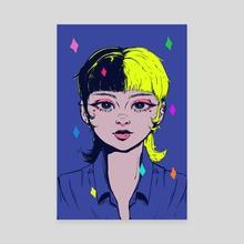 Lady Marmalade (v2) - Canvas by Amanda Zomberg
