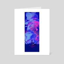 Fireworks Night - DreamSMP - Art Card by Lallelol